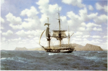 John Chancellor's HMS Beagle in the Galapagos