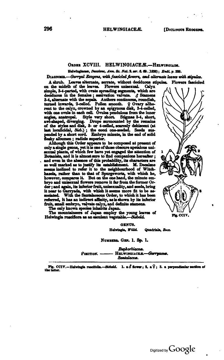 Lindley, John  1853  The vegetable kingdom
