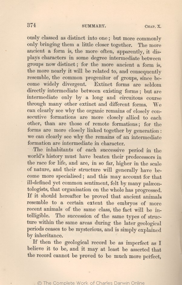 Darwin, C. R. 1861. On the origin of species by means of natural ...
