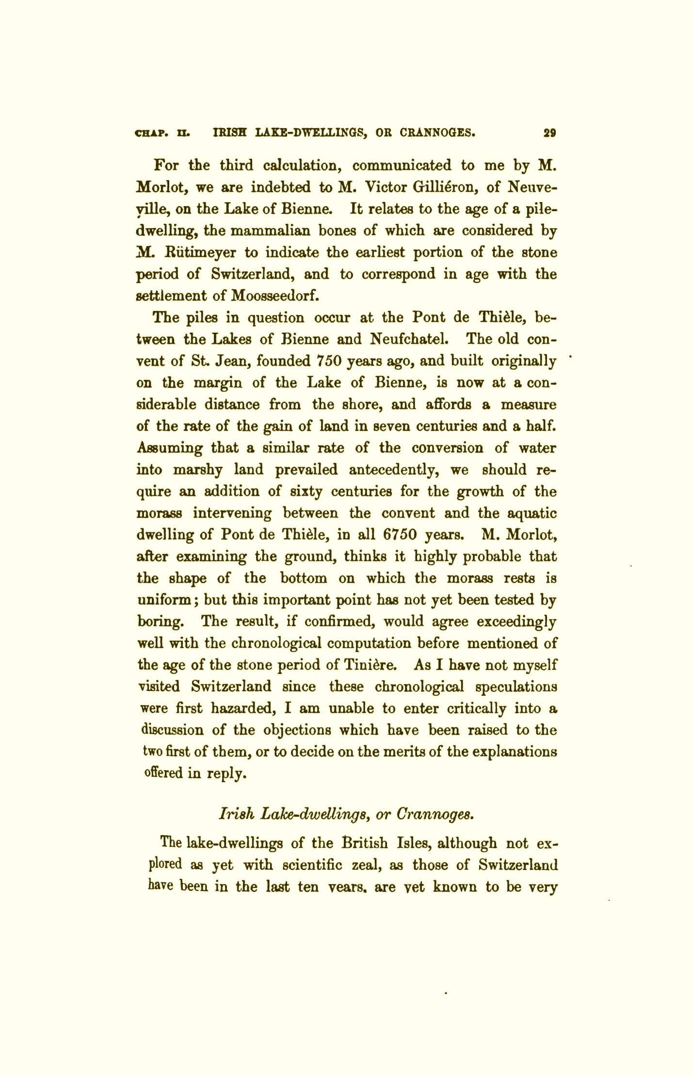 lyell charles 1863 the geological evidences of the antiquity of man with remarks on the origin