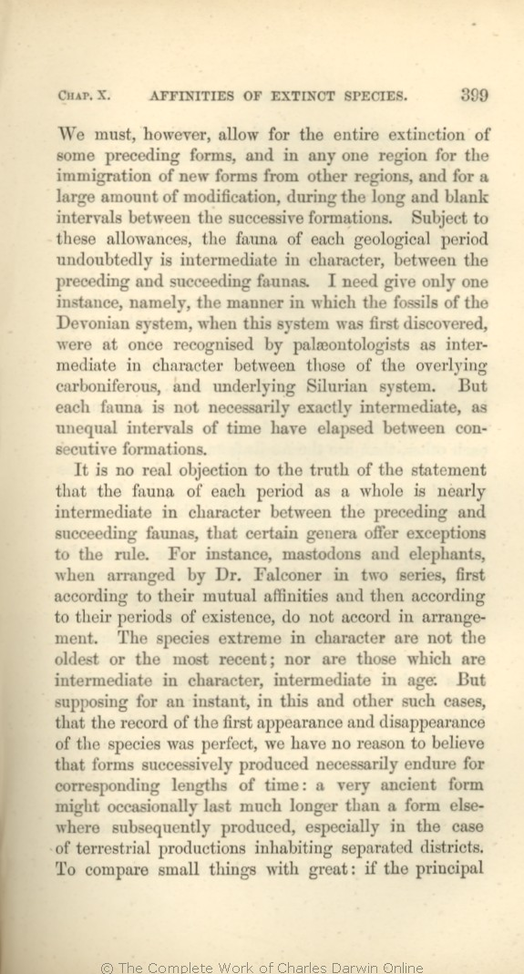 Darwin, C. R. 1866. On the origin of species by means of natural selection,  or the preservation of favoured races in the struggle for life.