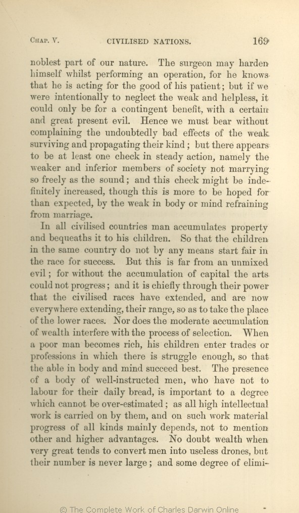 Darwin C R 1871 The Descent Of Man And Selection In Relation To