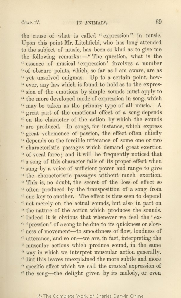 Darwin, C. R. 1872. The expression of the emotions in man and ...