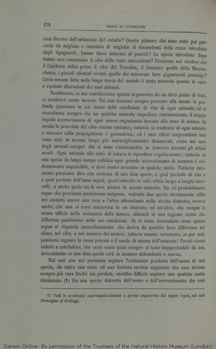 b1b14589791 Viaggio di un naturalista intorno al mondo. Translated by Michele Lessona.  Turin  Unione.
