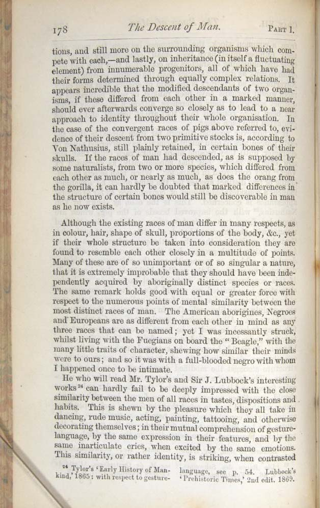 Darwin, C  R  1874  The descent of man, and selection in relation to