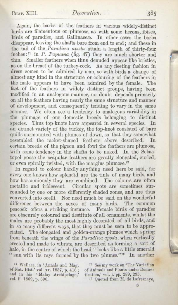 Darwin C R 1874 The Descent Of Man And Selection In Relation To Sex London John Murray 2d Ed Tenth Thousand