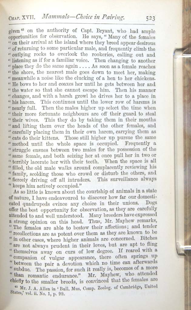 Darwin C R 1874 The Descent Of Man And Selection In Relation To