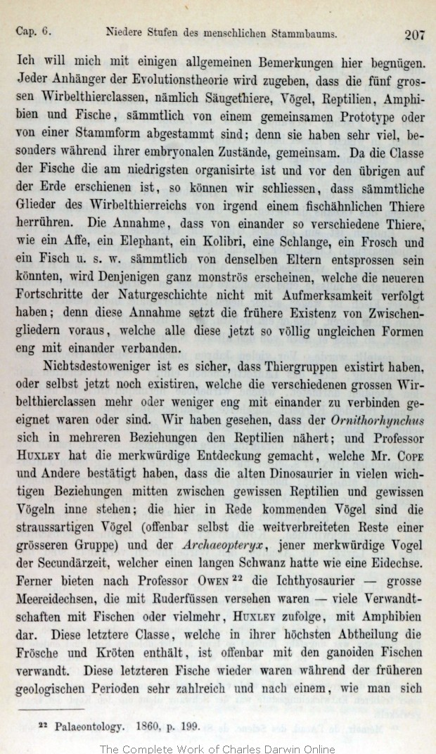 Darwin, C. R. 1875. Die Abstammung des Menschen und die ...