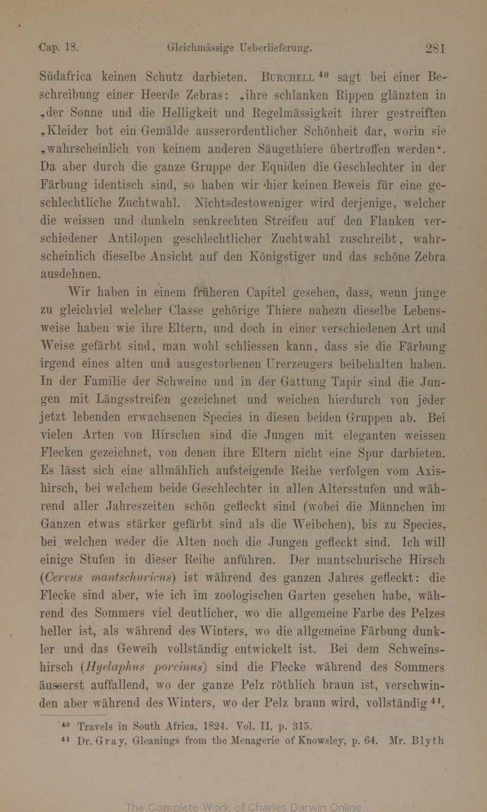 Darwin C R 1875 Die Abstammung des Menschen und