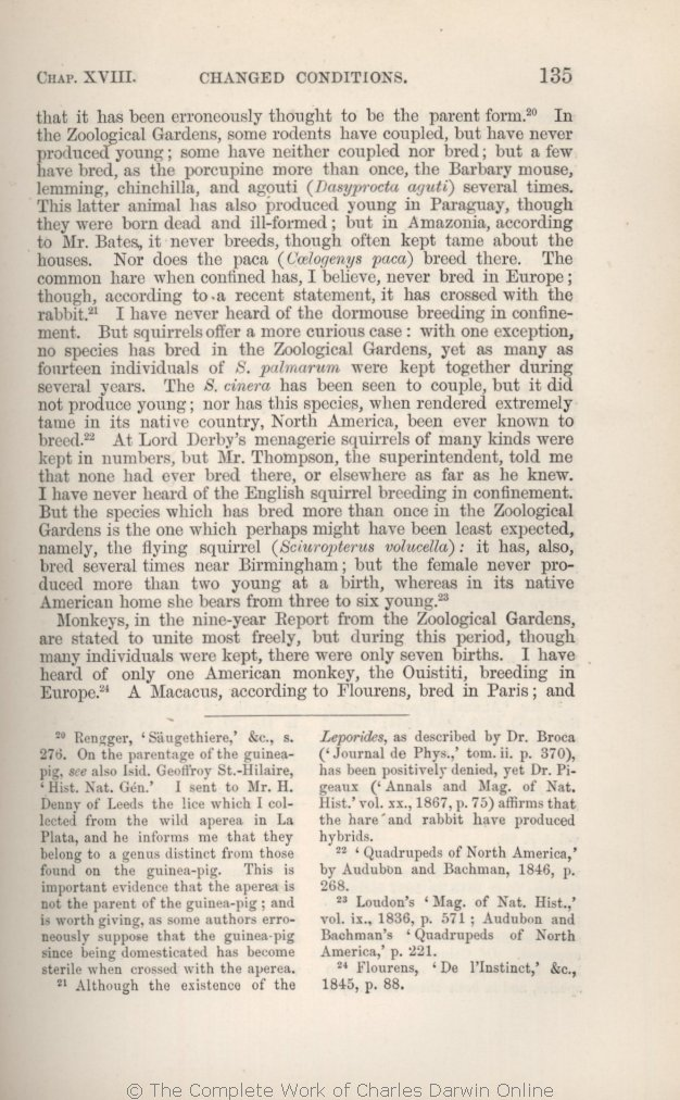 Darwin C R 1875 The Variation Of Animals And Plants Under