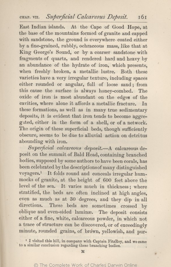 Darwin, C  R  1876  Geological observations on the volcanic islands