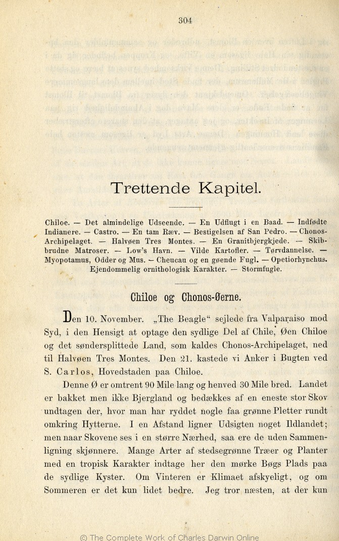 1364c3fedd0 Darwin, C. R. 1876. Rejse om Jorden. Populære Skildringer. Translated by  Emil Chr. Hansen and Alfred Jørgensen. Copenhagen: Salmonsen.