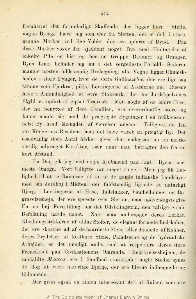 Darwin C R 1876 Rejse Om Jorden Populaere Skildringer