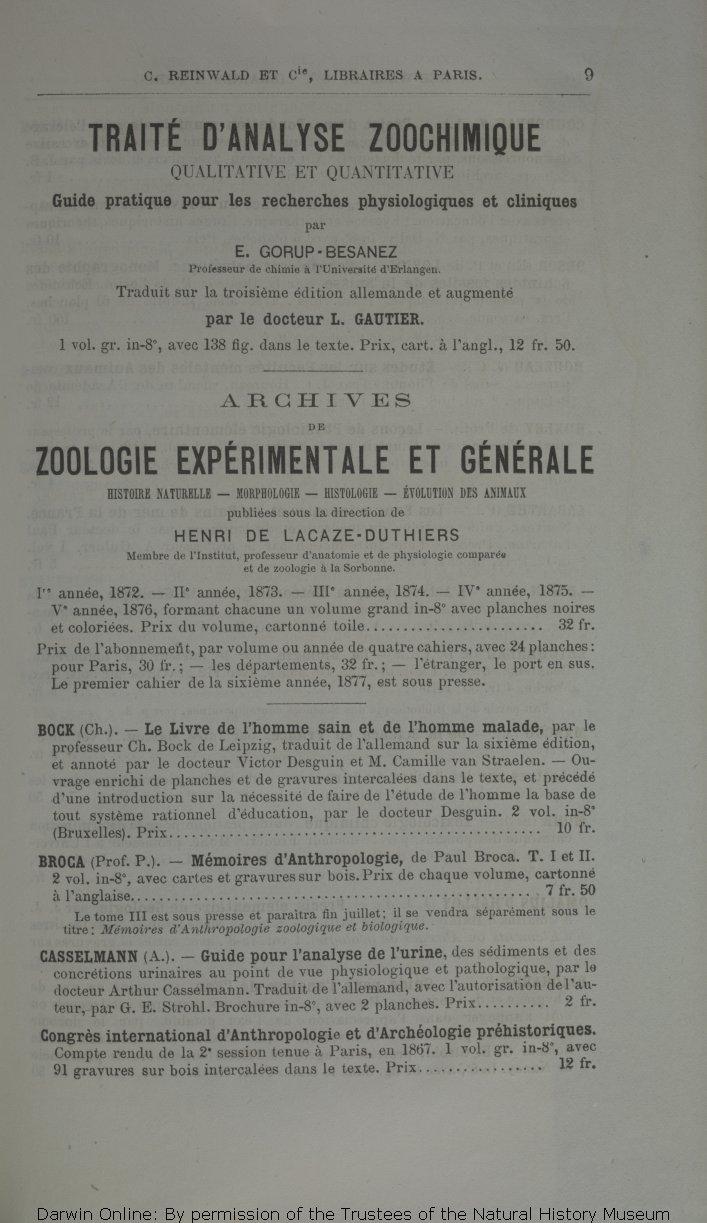 Darwin C R 1877 Des Effets De La Fecondation Croisee Et De La