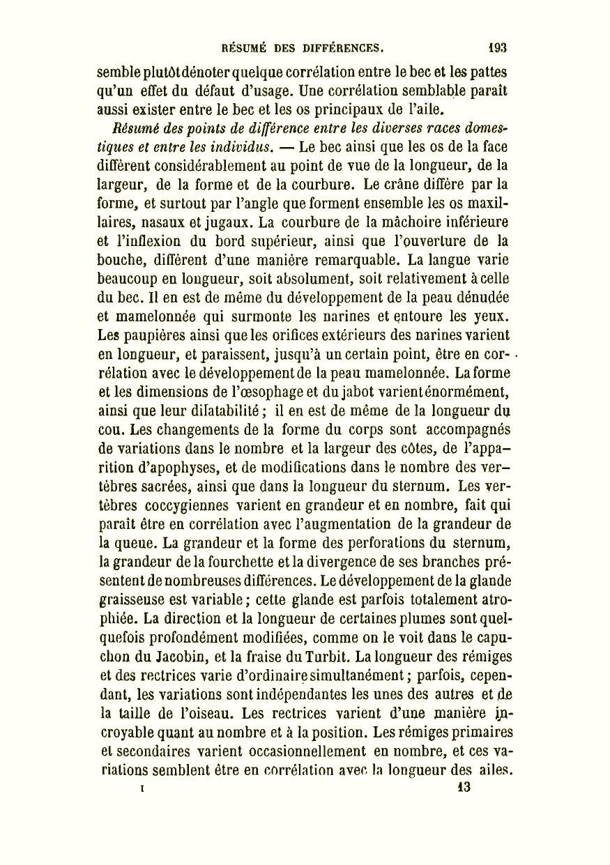 La À Plantes Animaux Et L Variation DarwinCR1879De Des rxBCdeoW