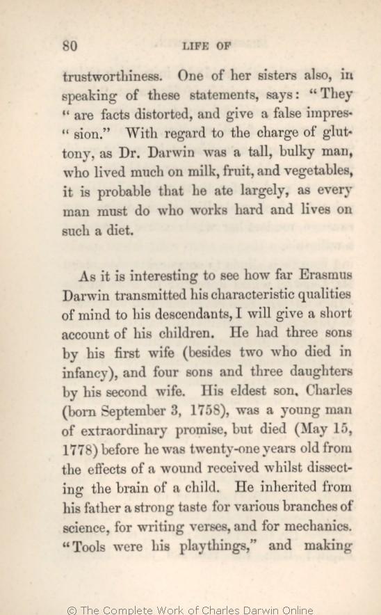 Darwin, C. R. 1879. Preliminary notice. in Krause, Ernst: Erasmus ...