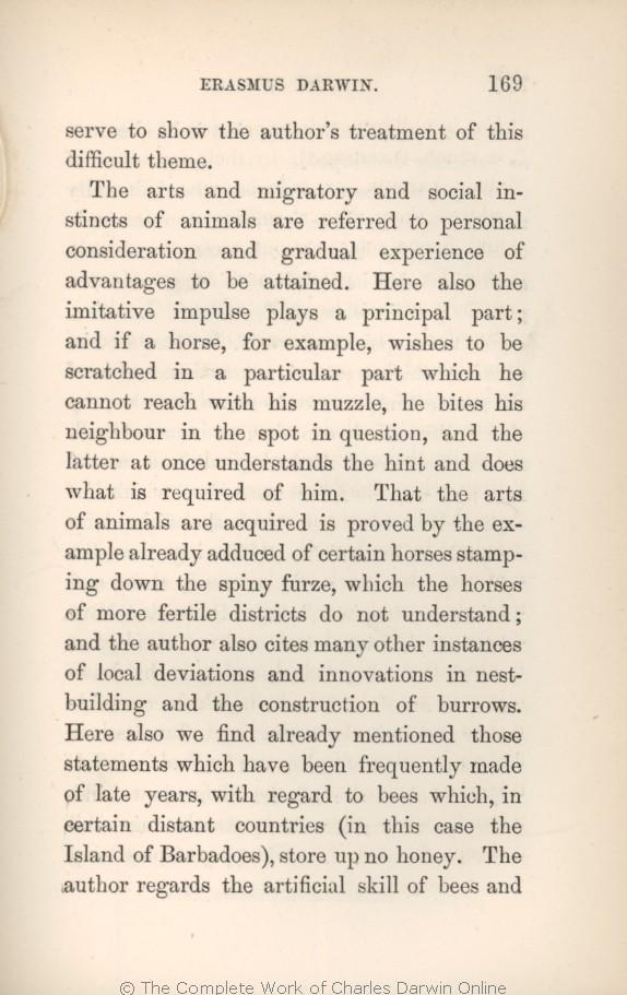 Darwin, C  R  1879  Preliminary notice  in Krause, Ernst