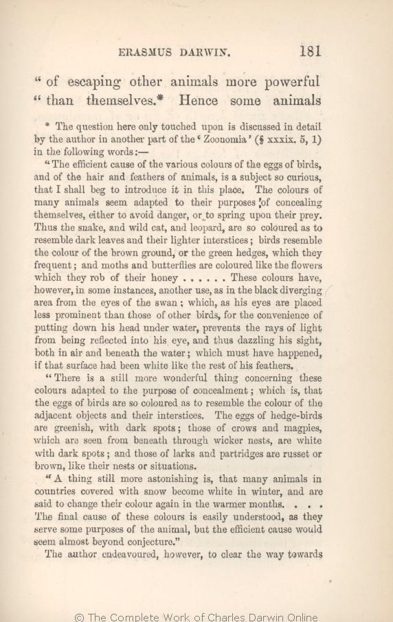 Darwin C R 1879 Preliminary Notice In Krause Ernst Erasmus