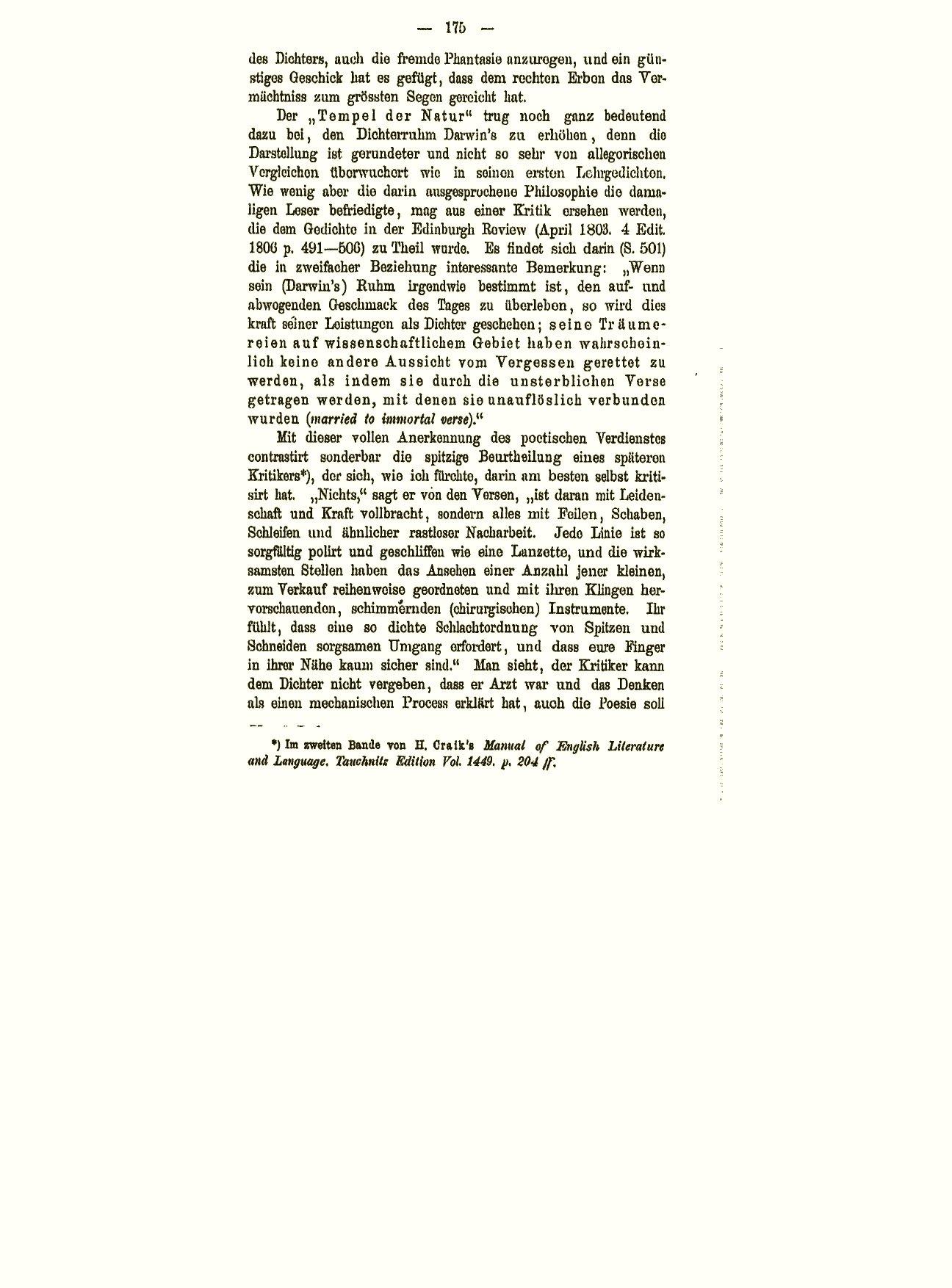 Darwin C R 1880 Erasmus Darwin Und Seine Stellung In Der