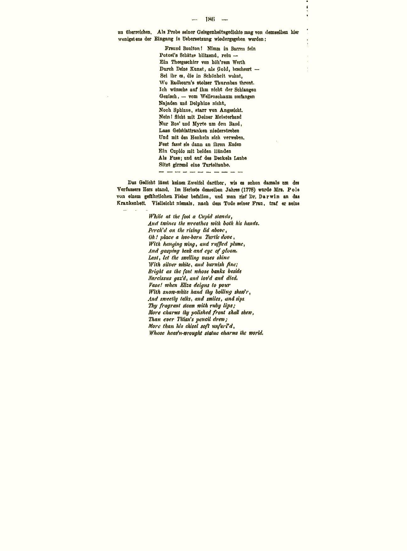 Darwin C R 1880 Erasmus Und Seine Stellung In Der Ban Dalam 26 Schwalbe Evo Geschichte Descendenz Theorie Von Ernst Krause Mit Seineme Lebens Charakterbilde