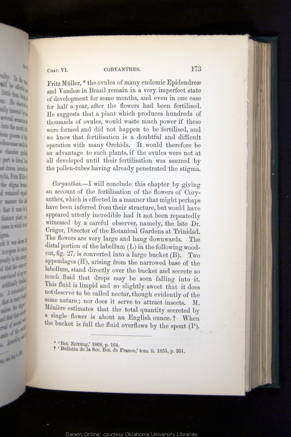 Darwin, C  R  1882  The various contrivances by which