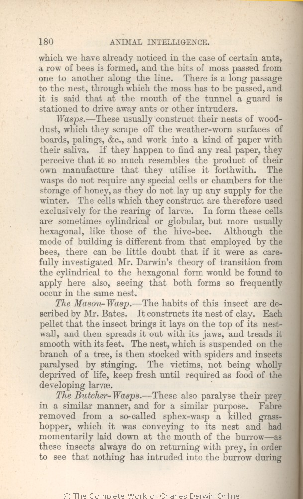 arwin, C  R  1882  [Extracts from Darwin's notes] In G  J
