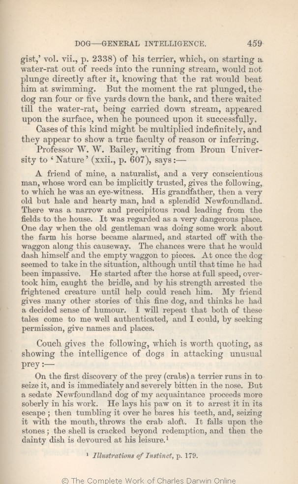 arwin, C. R. 1882. [Extracts from Darwin's notes] In G. J.