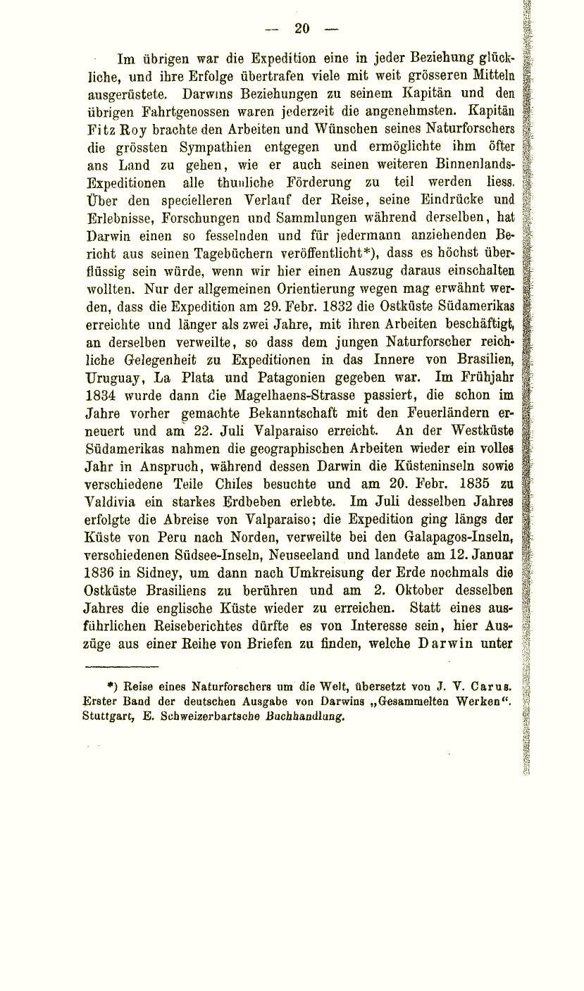 Krause Ernst 1885 Charles Darwin Und Sein Verhältnis Zu