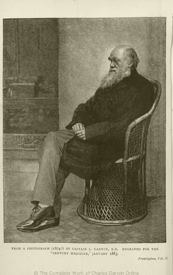 Darwin Francis Ed 1887 The Life And Letters Of Charles Darwin