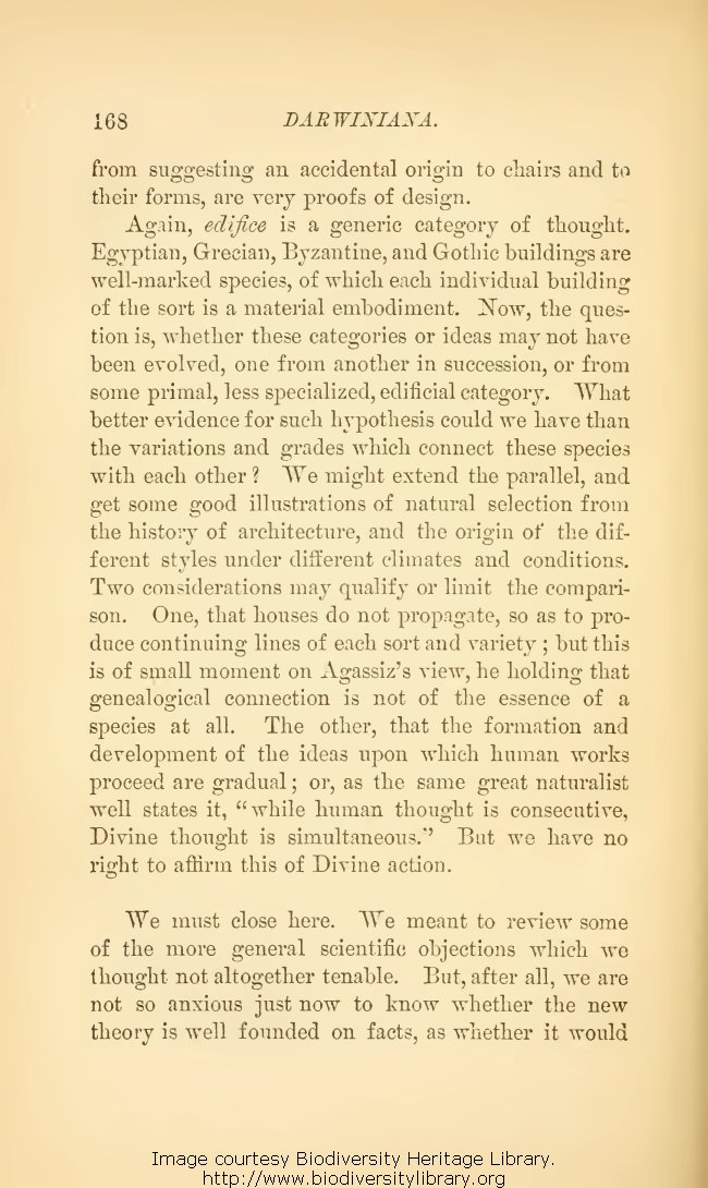 Gray, Asa  1888  Darwiniana: Essays and reviews pertaining