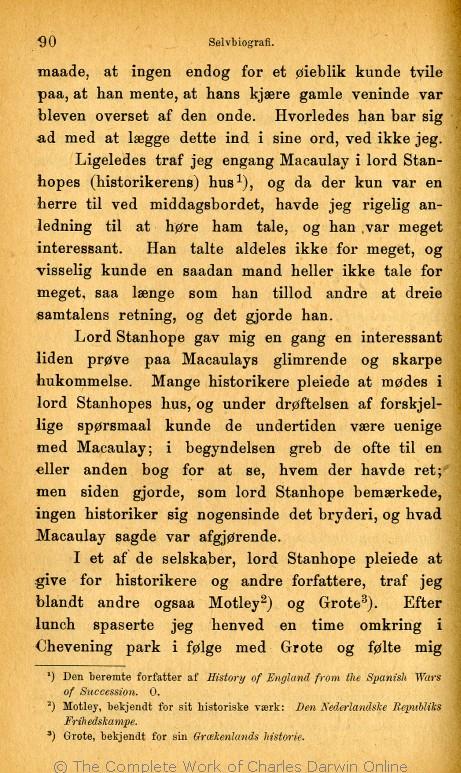 6786159307d Charles Darwins liv og breve med et kapitel selvbiografi. Translated by  Martin Simon Søraas. Fagerstrand pr. Høvig: Bibliothek for de Tusen Hjem.  Volume 1.