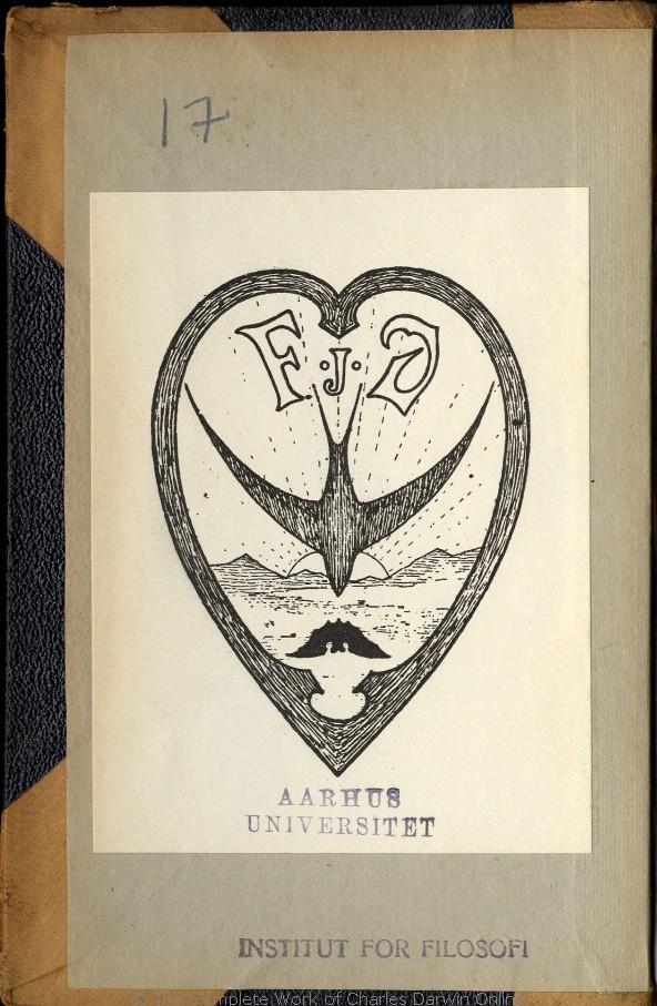 80c59122ea8 Charles Darwins liv og breve med et kapitel selvbiografi. Translated by  Martin Simon Søraas. Fagerstrand pr. Høvig: Bibliothek for de Tusen Hjem.  Volume 2.