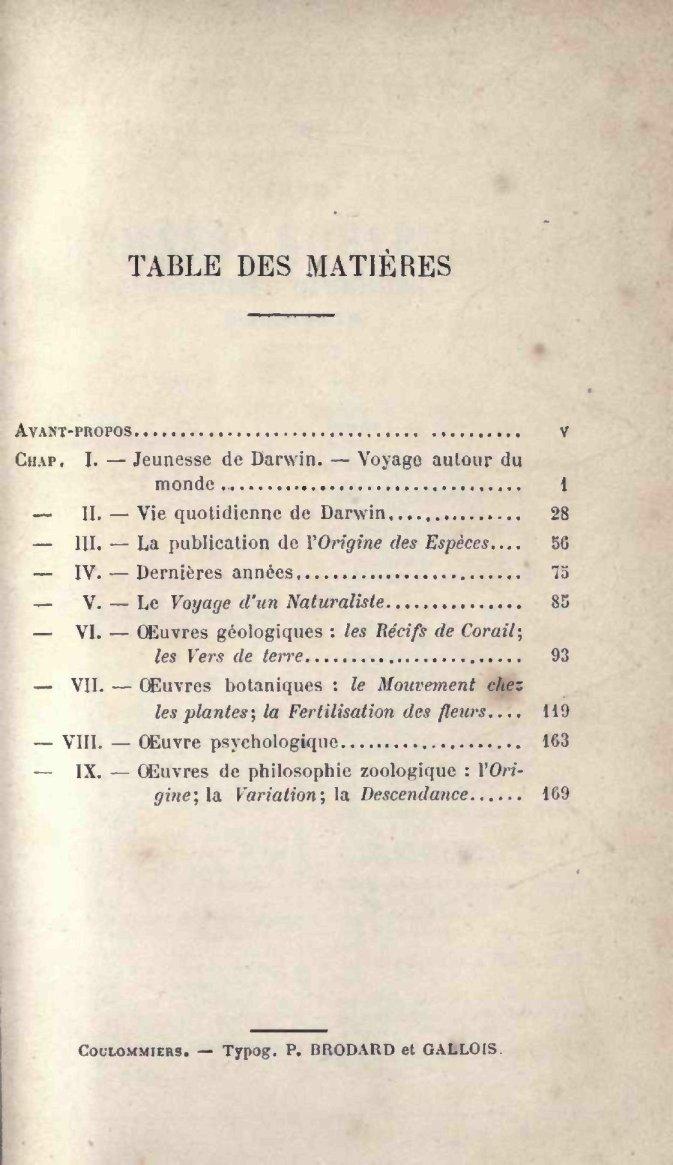 DarwinParisLibrairie Hachette VarignyH1889Charles VarignyH1889Charles De Hachette De DarwinParisLibrairie 6Yfymgv7Ib
