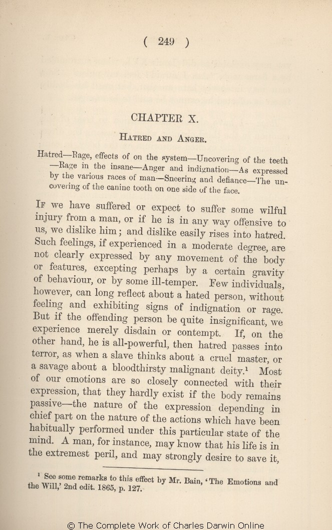 Darwin, C  R  1890  The expression of the emotions in man and