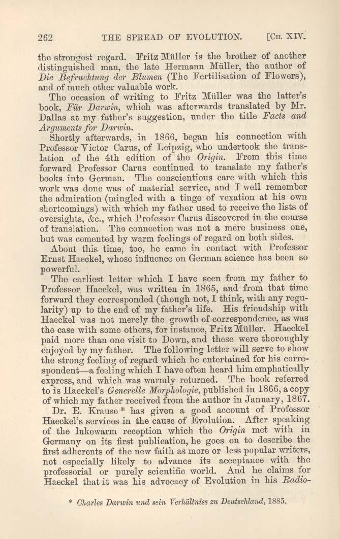Darwin Francis Ed 1892 Charles Darwin His Life Told In An