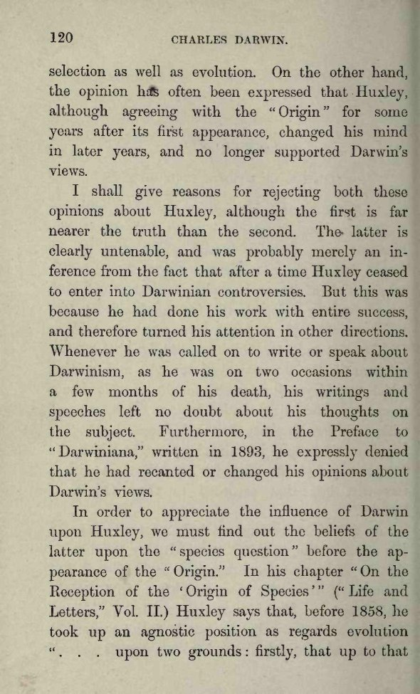 Poulton, Edward Bagnall  1896  Charles Darwin and the theory