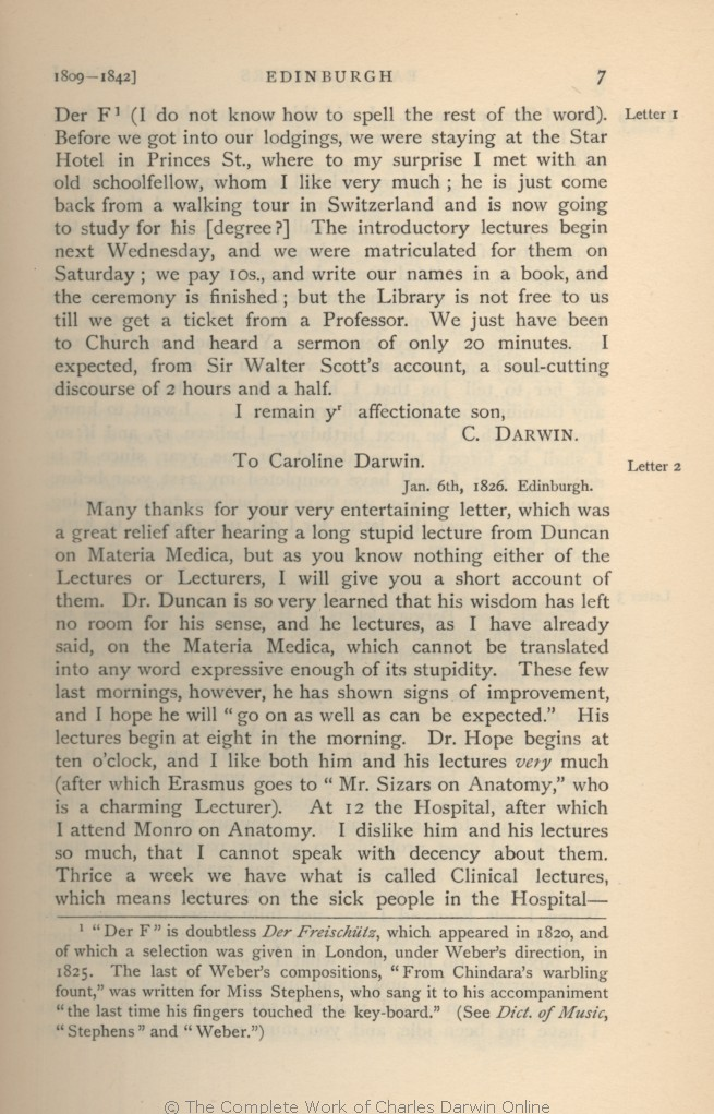 Darwin Francis Seward A C Eds 1903 More Letters Of Charles