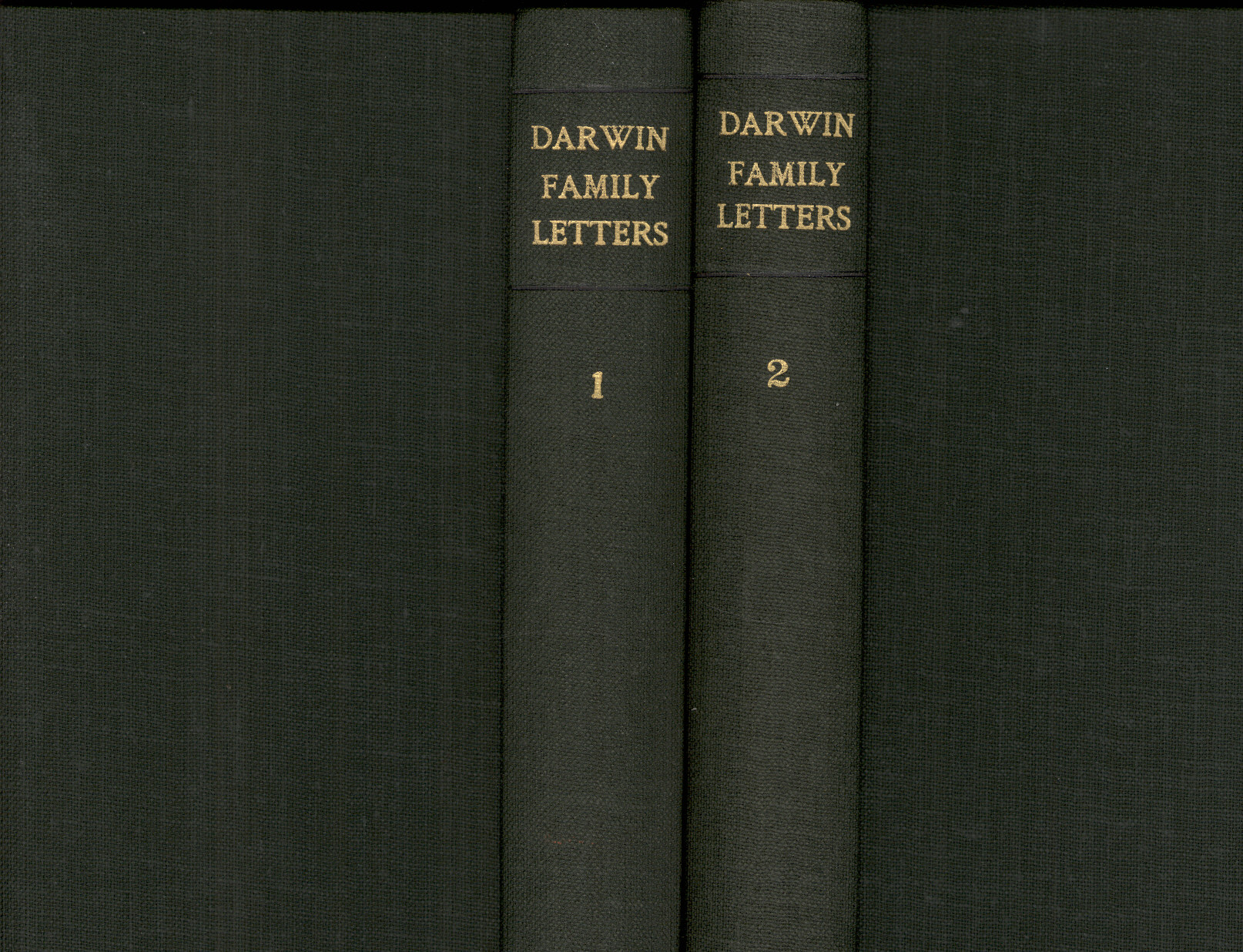 Litchfield H E Ed 1904 Emma Darwin Wife Of Charles A Rider Oblong R 222 B Century Family Letters Cambridge University Press Printed Volume 2
