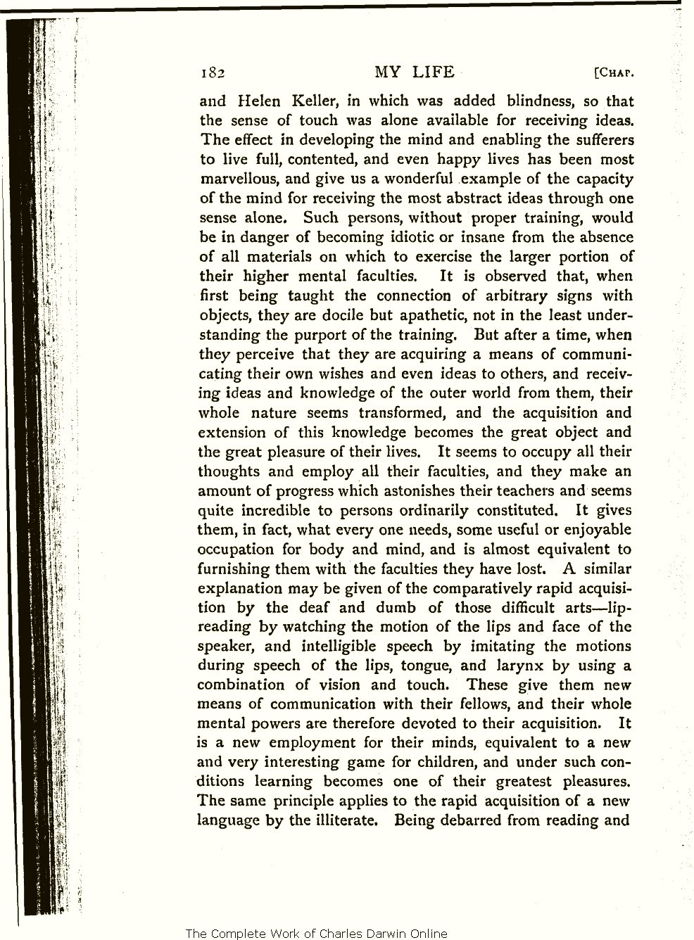 Wallace, A. R. 1905. My life: A record of events and opinions ...