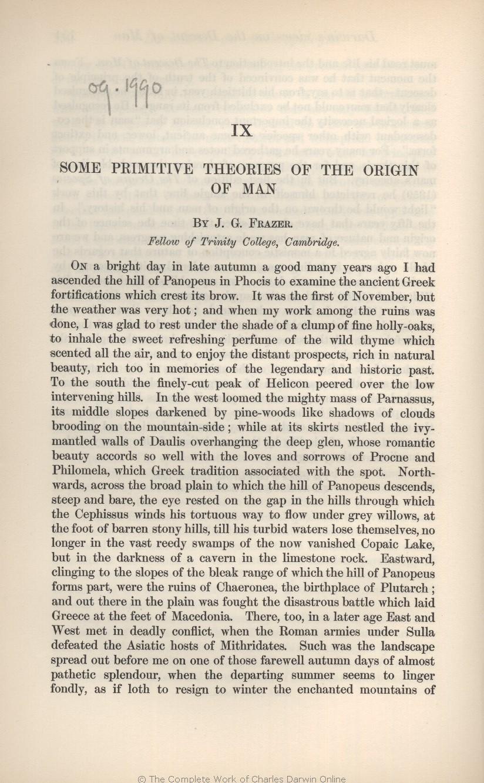 Seward A C Ed 1909 Darwin And Modern Science Essays In