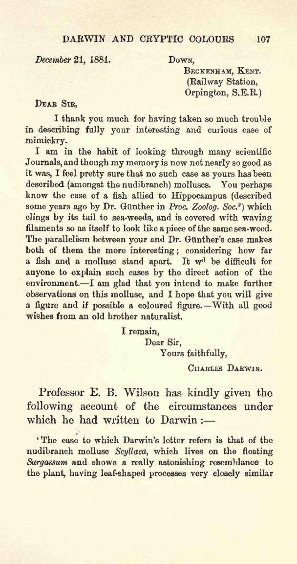 Charles darwin 6 word essay