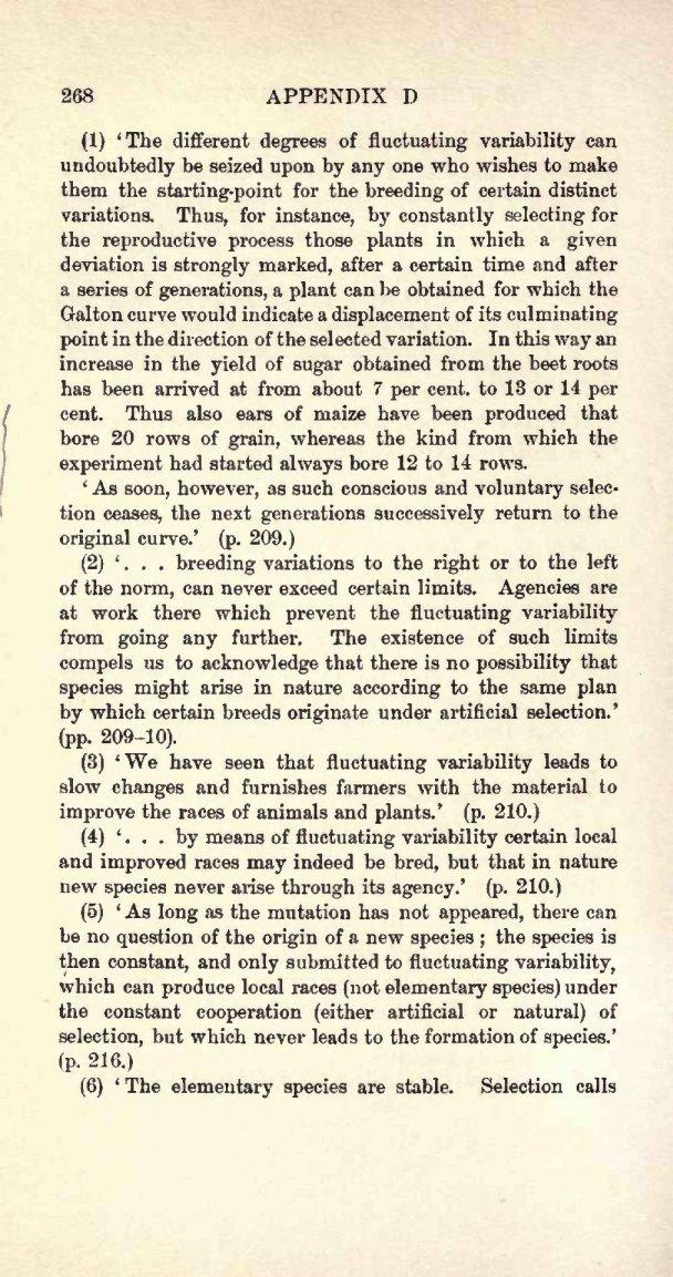 Poulton E B 1909 Charles Darwin And The Origin Of Species