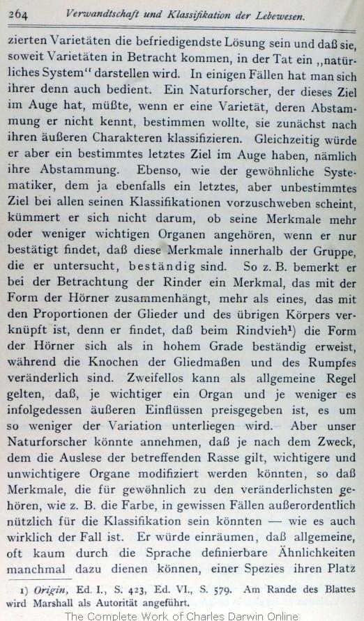 Darwin Francis Ed 1911 Die Fundamente Zur Entstehung Der Arten