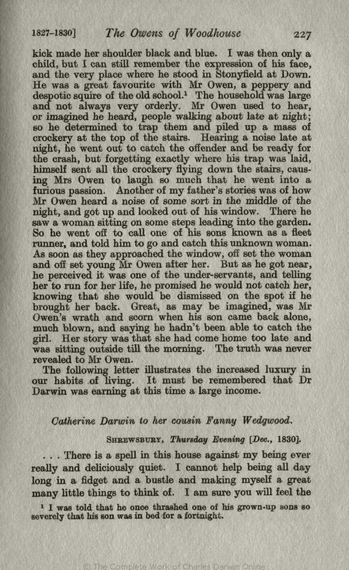 Litchfield, H  E  ed  1915  Emma Darwin, A century of family letters