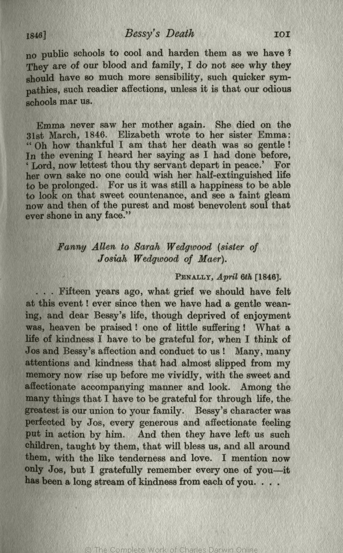 Litchfield H E Ed 1915 Emma Darwin A Century Of Family Letters Toy Find Out More About The Circuit By Clicking This Chuckles Link 1792 1896 London John Murray Volume 2