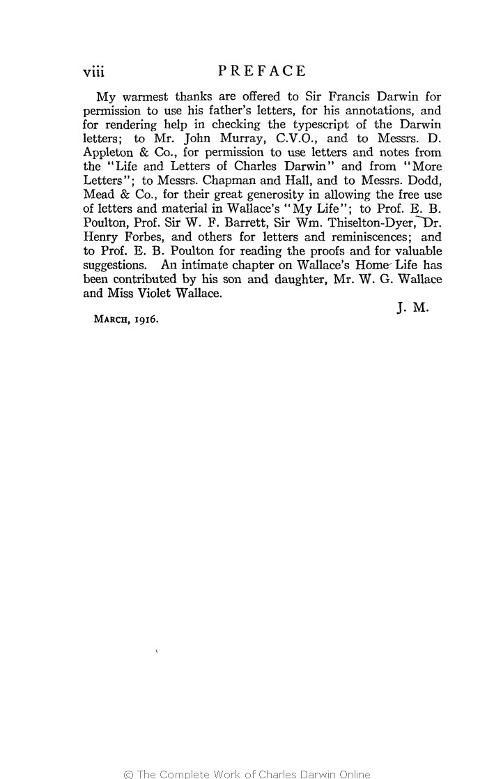 Marchant james ed 1916 alfred russel wallace letters and marchant james ed 1916 alfred russel wallace letters and reminiscences new york harper brothers nvjuhfo Choice Image