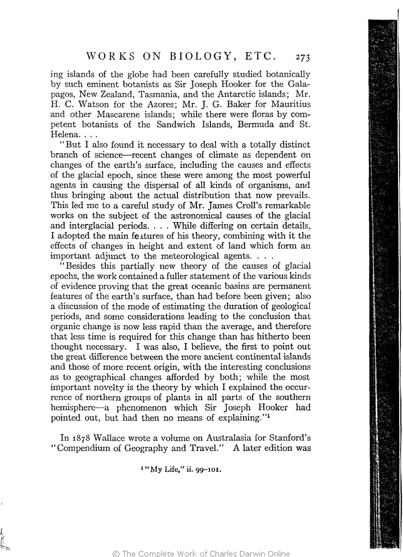 Marchant James Ed 1916 Alfred Russel Wallace Letters And Old Town Coffe 2 In1 Isi 15 Reminiscences New York Harper Brothers
