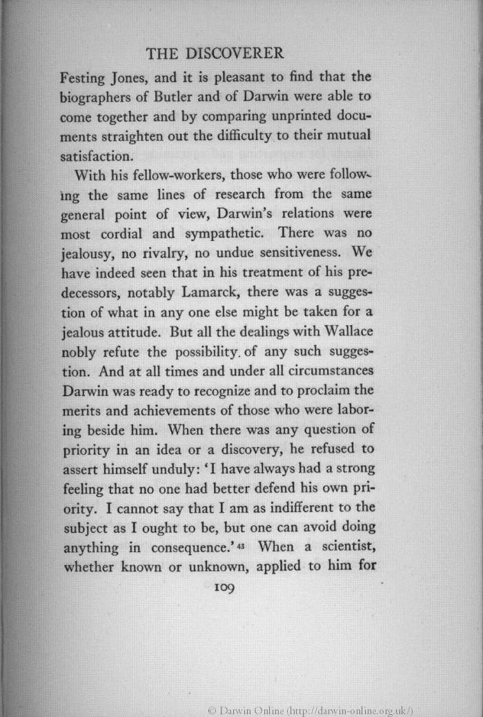 Bradford Gamaliel 1926 Darwin Boston New York Houghton Mifflin