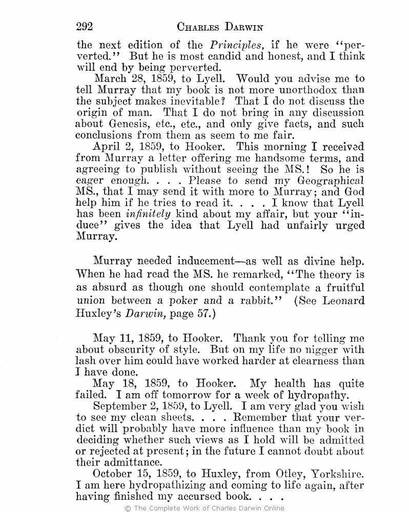 ward henshaw 1927 charles darwin the man and his warfare london john murray