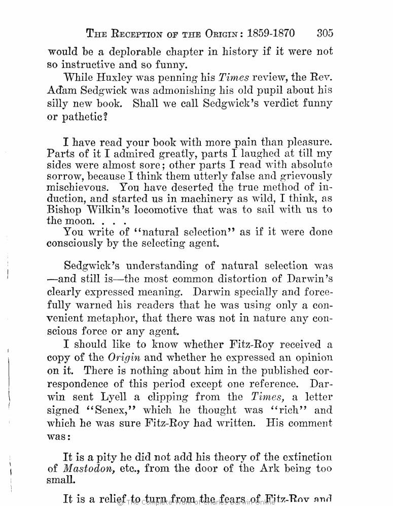 Ward, Henshaw  1927  Charles Darwin: The man and his warfare